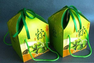 食品包装盒之香粽礼盒